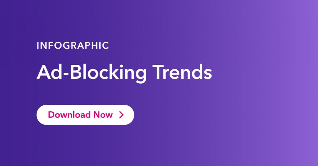 Ad blocking infographic
