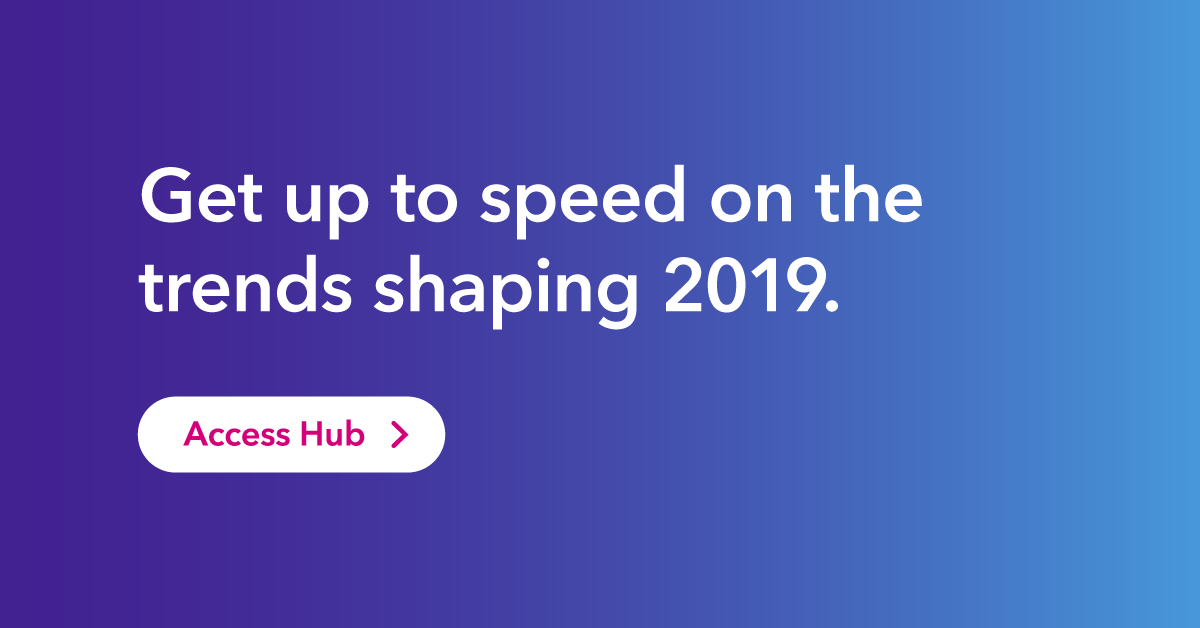 click to access the trend 2019 hub
