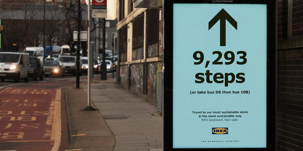 Ikea's steps campaign