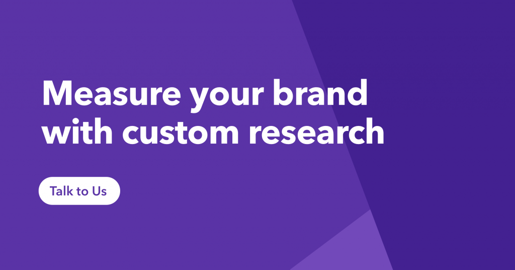 Measure you brand with custom research.