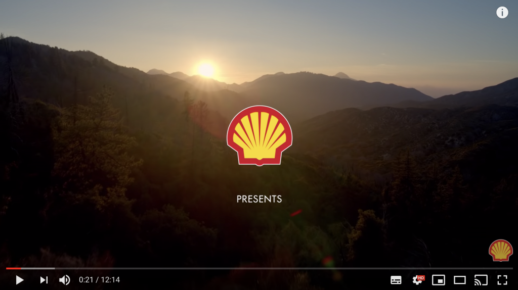 click to access Shell's advertising campaign.